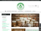 Assiettes biodégradables pour tous vos événements
