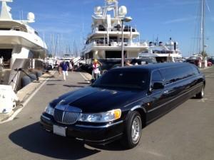 Limousine avec chauffeur à Nice