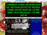 RITUEL RETOUR DE L'ETRE AIME EN 48 H